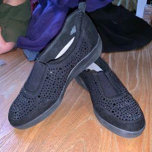 Anne Klein sport slip on sneakers.